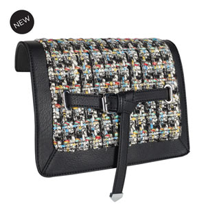 Chroma Versa Handbag Flap Accent - Multi/Black at MyStyleInASnap.com