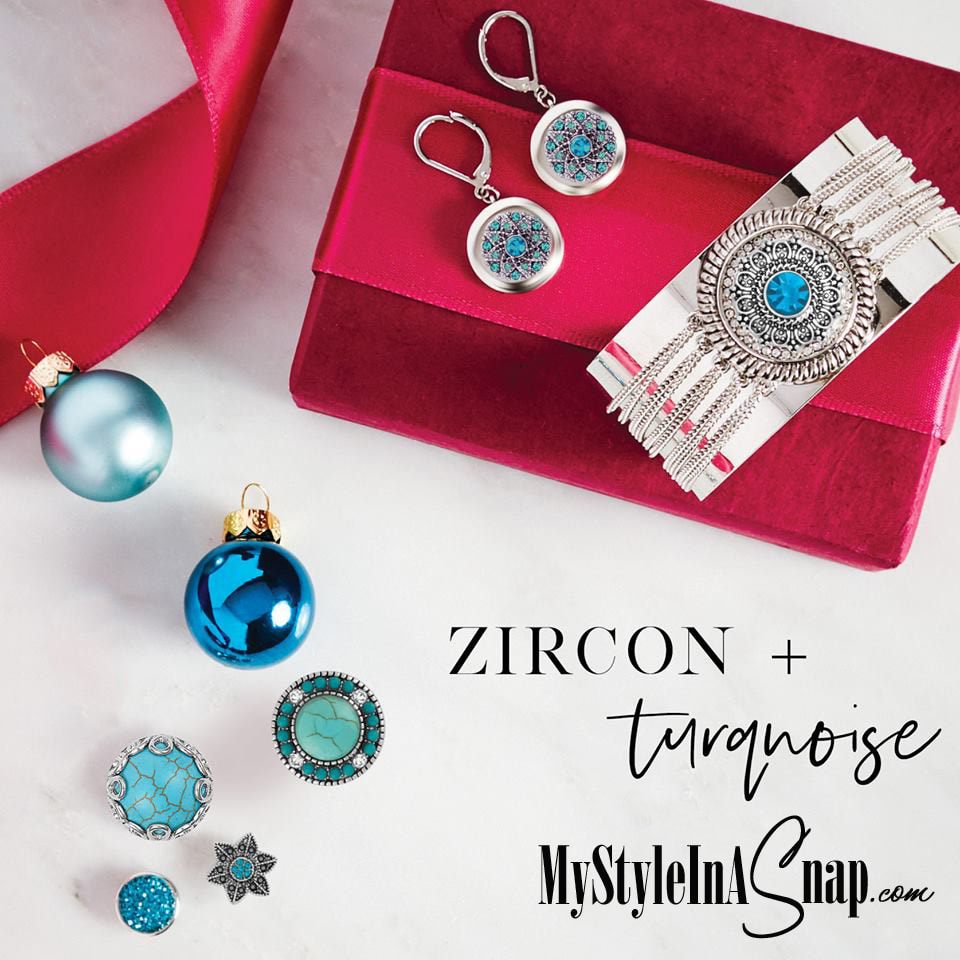 Just the thing for the December babies on your gift list: birthstone sparklers in turquoise and blue. Snap some up -- for them and for YOU!  Shop MyStyleInASnap.com LOVE IT? Join us and get it all at consultant prices!