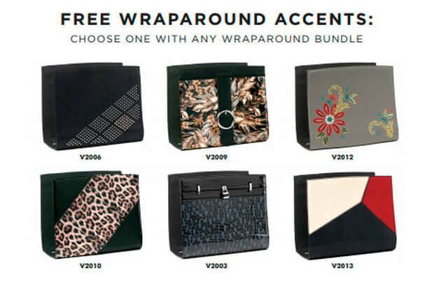 One FREE Wraparound Accent FREE with the purchase of a Wraparound Bundle. Shop MyStyleInASnap.com