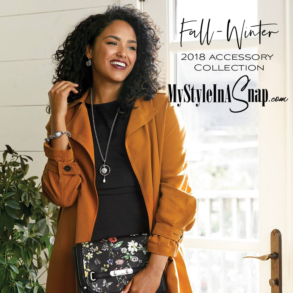 Our Fall-Winter 2018 collection is stunning! Are you ready to score some bling? Shop MyStyleInASnap.com LOVE IT? Join us and get it all at consultant prices.