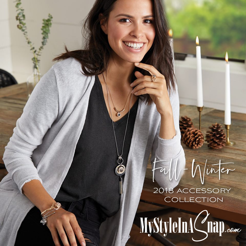 New layers, new looks... you're going to love the new Fall / Winter 2018 Accessory Collection. Shop MyStyleInASnap.com LOVE IT? Join us and get it all at consultant prices!