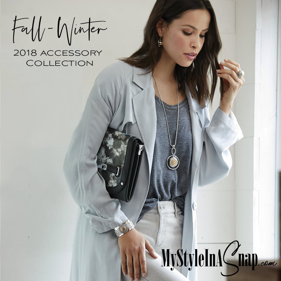 July 24, 2018 our new Fall/Winter Collection debuts! New VERSA Handbag sizes and new Accents! New size Snaps - welcome the Grand 30mm Snap and much more! You're going to love it all! Shop MyStyleInASnap.com LOVE IT? Join us and get it all at consultant prices.