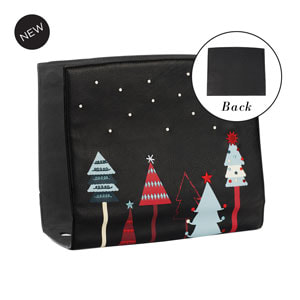 Festive Forest Wraparound Accent Black for Versa Handbags - MyStyleInASnap.com