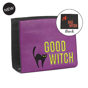 Good Witch, Bad Witch Wraparound Accent Black/Purple for Versa Handbags - MyStyleInASnap.com