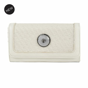 Grand Carly Wallet White - MyStyleInASnap.com