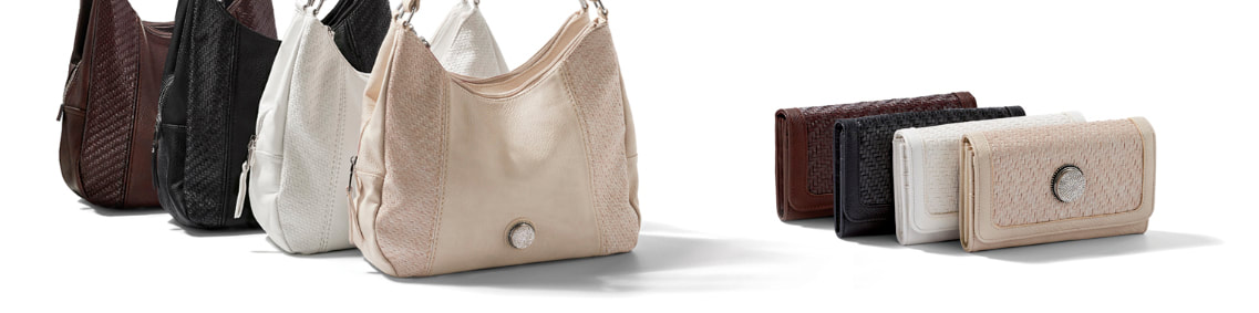 Grand Carly Hobo Bag and Wallets hold your choice of one 30mm Jewelry Snap (sold separately) at MyStyleInASnap.com