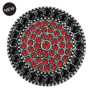 Grand Sundial Red/Black Snap - Shop MyStyleInASnap.com