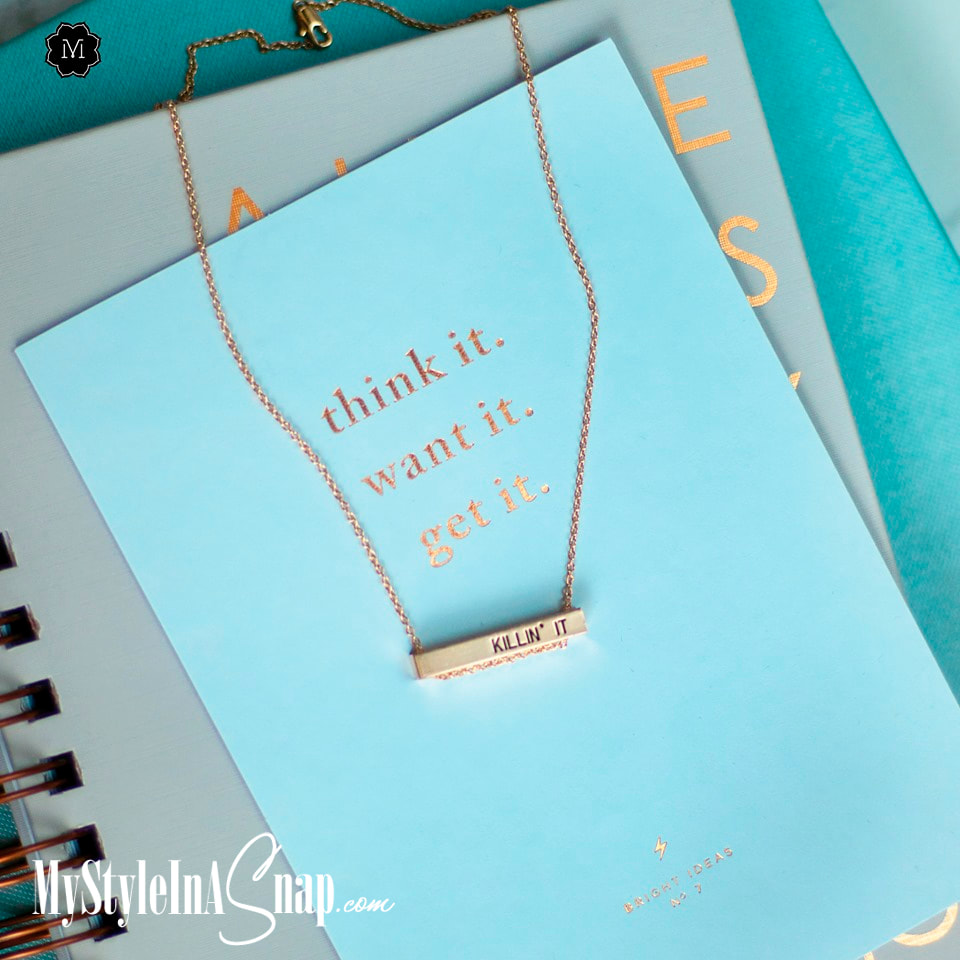 Check out all our Karma Cha Cha bar pendant statements. This Collection has all the must-have mantras to tell it like it is. Shop MyStyleInASnap.com
