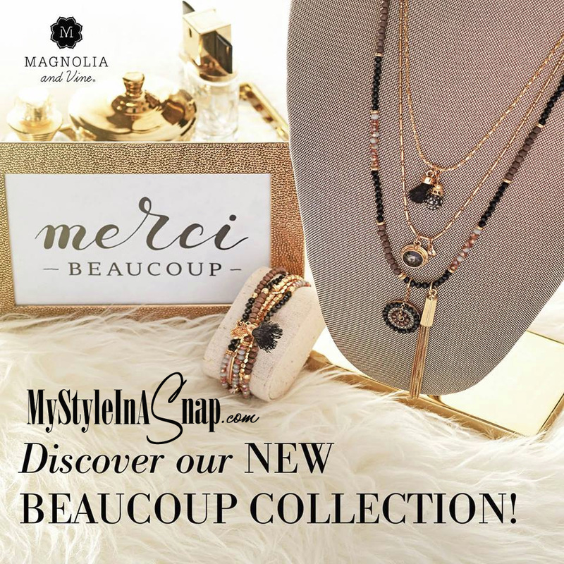 Magnolia and Vine Beaucoup Collection - available in 6 colors - at MyStyleInASnap.com