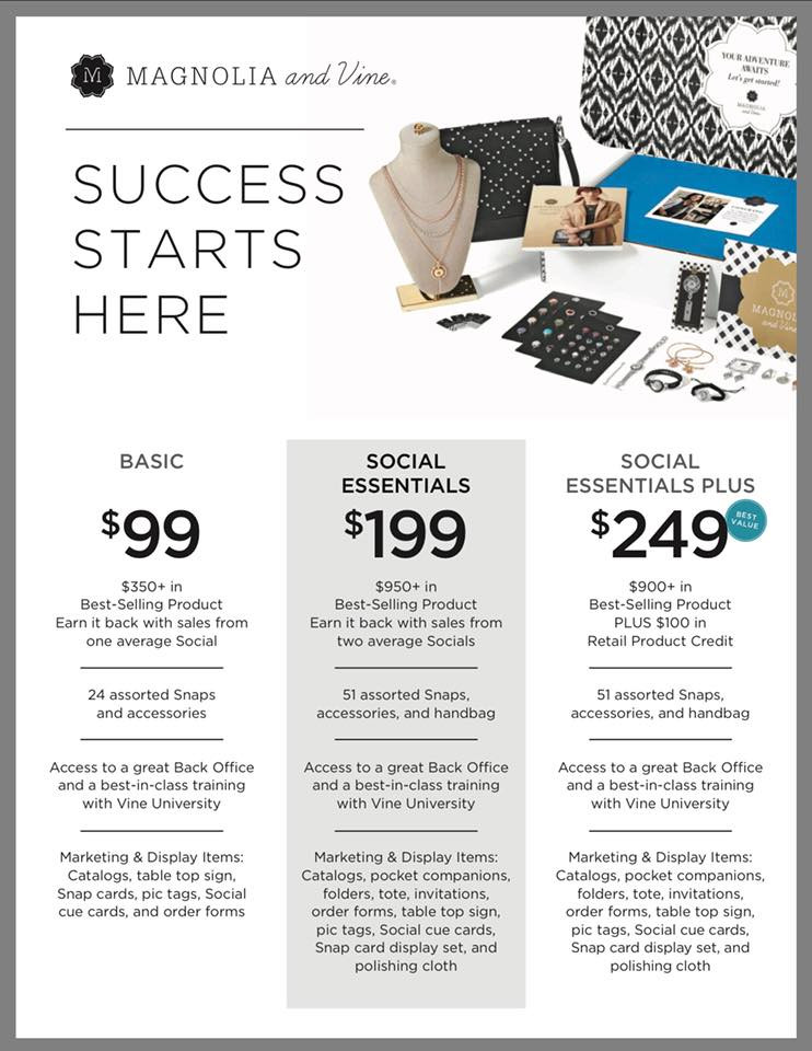 Magnolia and Vine Business Starter Kit. Join our family of Style Consultants today and start enjoying a life you love!