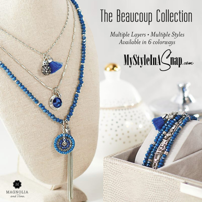 Magnolia and Vine Beaucoup Collection available at MyStyleInASnap.com