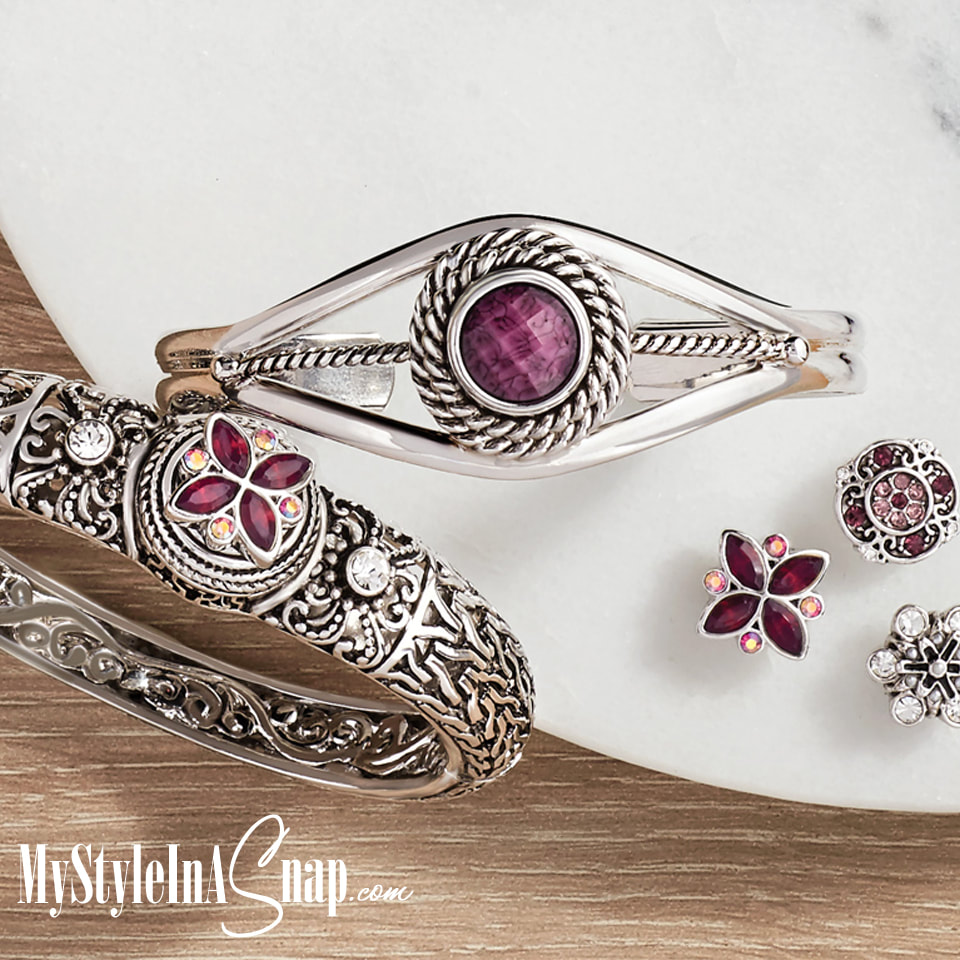Berry Jewelry Snaps and new Bangle Bracelets! See the 2017 Fall / Winter 2017 Collection at MyStyleInASnap.com - LOVE IT? Join us and get it all at consultant prices!