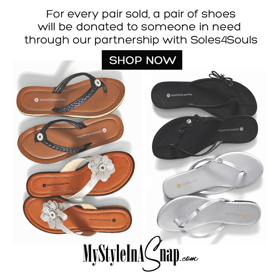 FREE Snaps with Flip Flop Purchase at our Social at MyStyleInASnap.com