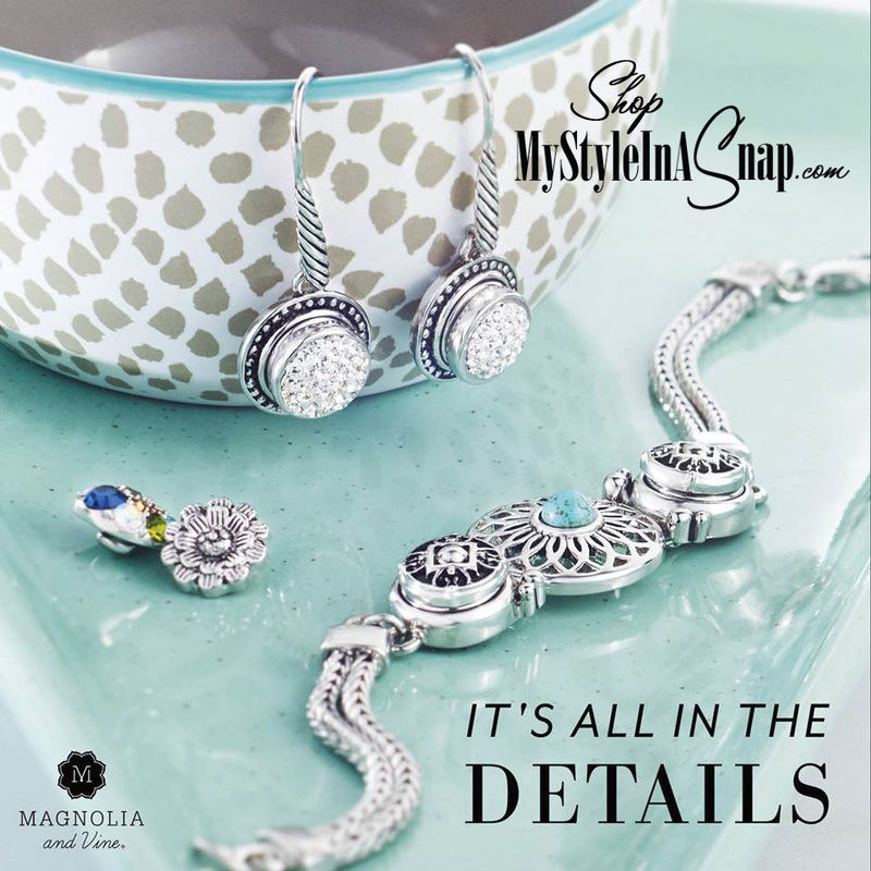 Express your own personal styling today with the new Magnolia and Vine SHOPPABLE CATALOG at MyStyleInASnap.com