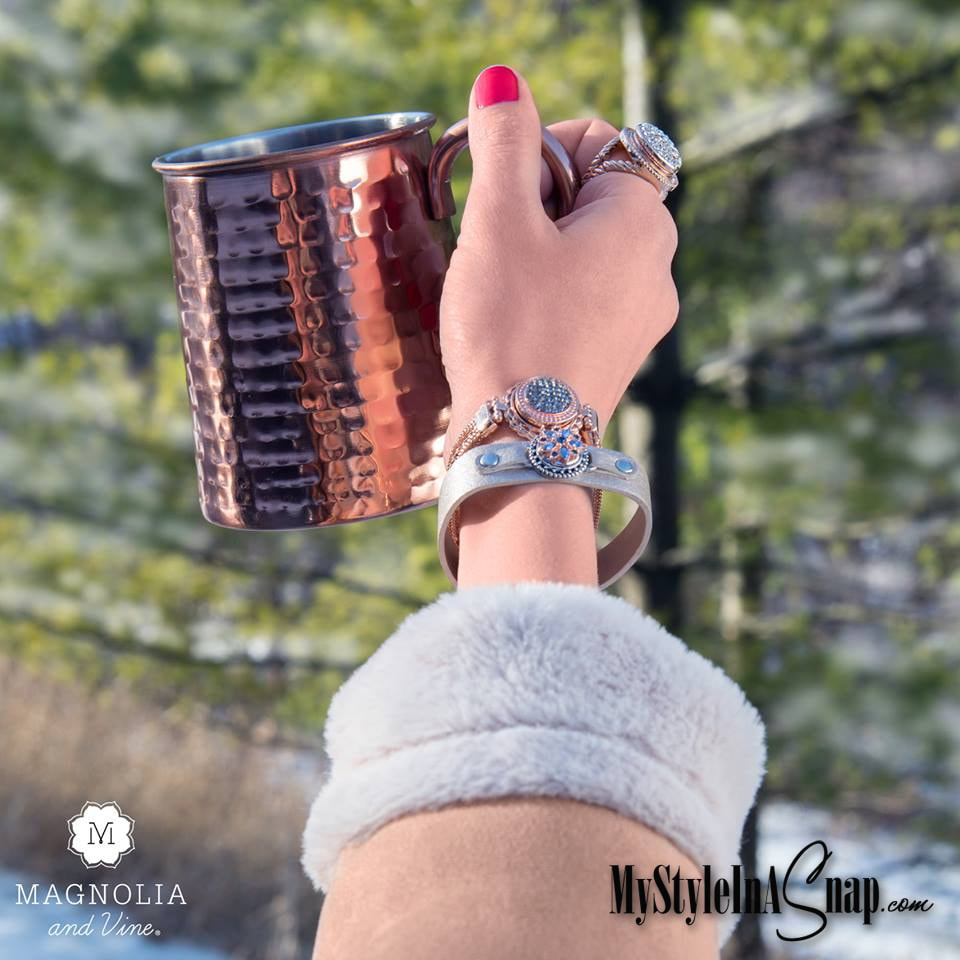 It's fun to accessorize every day of the year. What's your favorite accessory? A bracelet? A ring? A necklace? With our accessories, you can wear your favorite everyday and change out the Jewelry Snap to match your outfit, your event or your mood. Shop MyStyleInASnap.com - LOVE IT? Join us and buy it all at consultant prices!