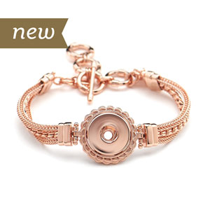 Magnolia and Vine #S1179 Rose Gold Dream Weaver Bracelet available at MyStyleInASnap.com