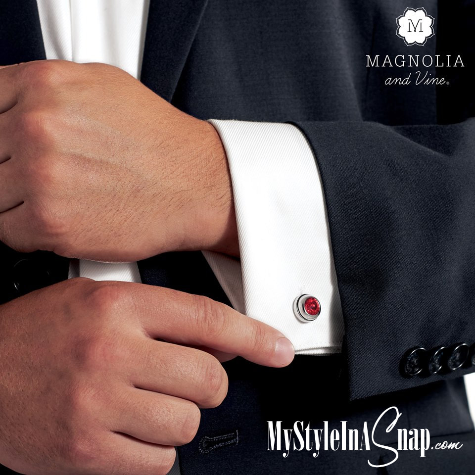 Buy one pair of cufflinks, then swap in and out your favorites of our mini jewelry snaps in styles or colors to match your suit or your occasion. SHOP MyStyleInASnap.com. LOVE IT? Join us and buy it all at consultant prices.