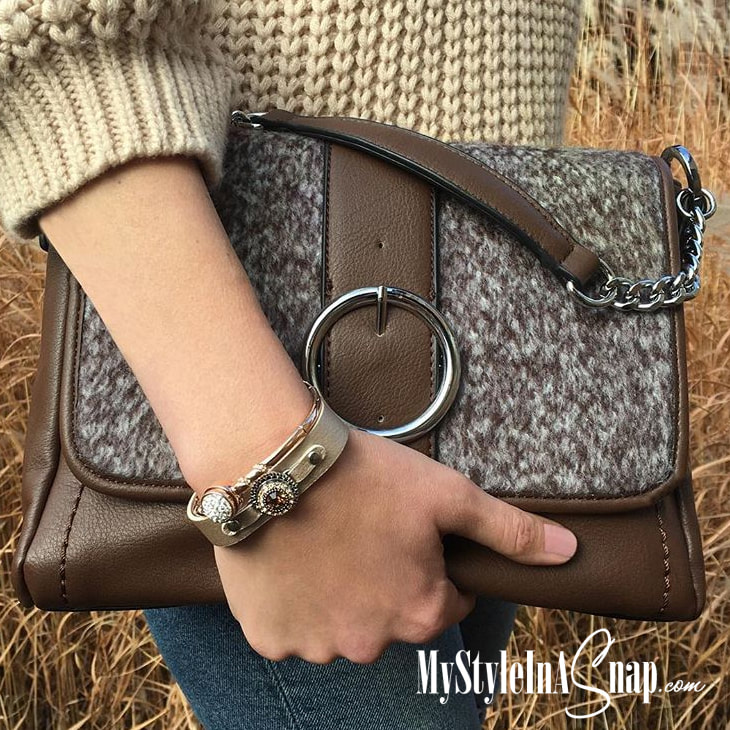 Grab a VERSA Handbag for yourself or as a gift for someone you love! 34+ Accent flaps to choose from for Black or Brown VERSA Base Bags at MyStyleInASnap.com - LOVE IT? Join us and buy it all at consultant prices.