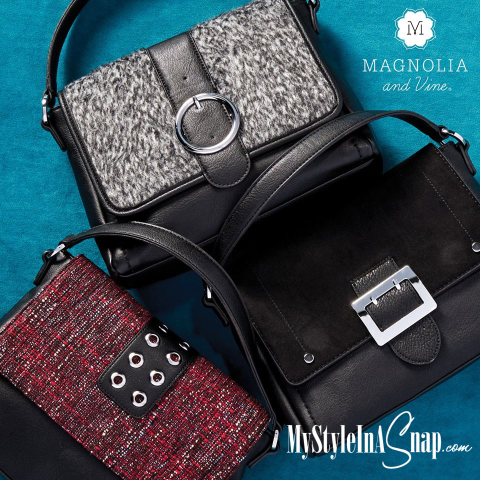 Time to winterize your wardrobe? It's easy with Versa, our exclusive interchangeable handbag collection at MyStyleInASnap.com LOVE IT? Join us and get it all at consultant prices.