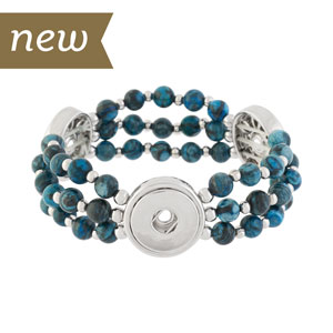 Magnolia and Vine Mesa Stretch Bracelet #S1276 available at MyStyleInASnap.com