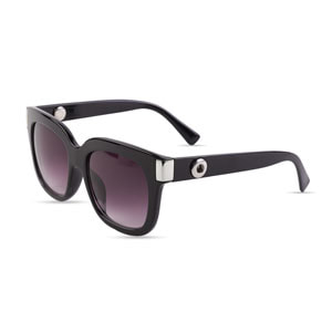 Magnolia and Vine Mini Ara Black Sunglasses accented with Jewelry Snaps available at MyStyleInASnap.com