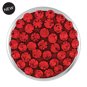 Mini Dazzle Red Snap #M1483