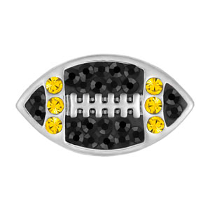 Mini Football Black/Yellow Snap at MyStyleInASnap.com