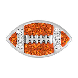 Mini Football Gold/Clear Snap at MyStyleInASnap.com