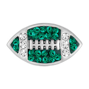 Mini Football Green/Clear Snap at MyStyleInASnap.com