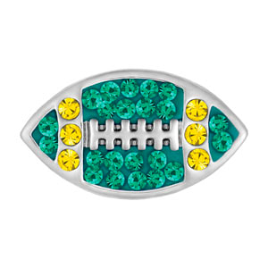 Mini Football Green/Yellow Snap #M1141 at MyStyleInASnap.com