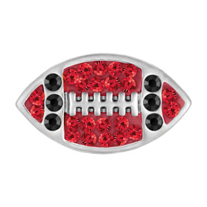 Mini Football Red/Black Snap at MyStyleInASnap.com