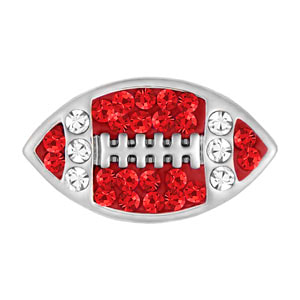 Mini Football Red/Clear Snap at MyStyleInASnap.com