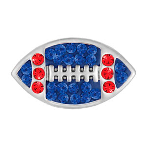 Mini Football Royal Blue/Red Snap at MyStyleInASnap.com