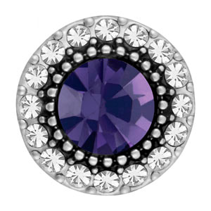 Mini Halo Tanzanite Snap at MyStyleInASnap.com