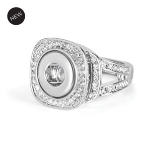 Mini Piazza Stretch Ring (Fits sizes 5.5-8) at MyStyleInASnap.com