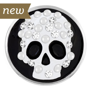 Magnolia and Vine Mr Bones Skeleton Skull Snap #M0570 available at MyStyleInASnap.com - LOVE IT? Join us and buy it all at consultant prices or start your own turn-key business!