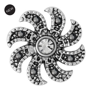 Mini Pinwheel Clear Snap #M0756 by Magnolia and Vine available at MyStyleInASnap.com