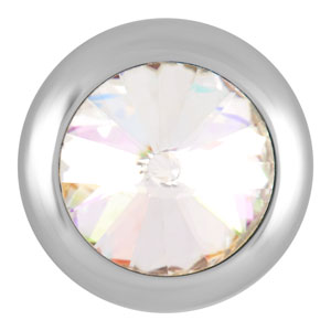 Magnolia and Vine Mini Solitaire Crystal Snap #M0068