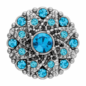 Mini Vintage Blue Zircon Snap at MyStyleInASnap.com