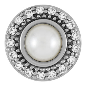 Magnolia and Vine Mini Zelda White Pearl Snap #M0258 available at MyStyleInASnap.com