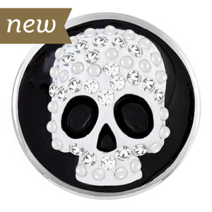 Magnolia and Vine Mr Bones Skeleton Skull Snap #S1383 available at MyStyleInASnap.com - LOVE IT? Join us and buy it all at consultant prices or start your own turn-key business!