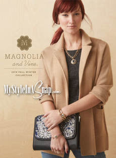 Browse through our shoppable On-Line Fall-Winter 2018 Catalog! Magnolia and Vine - Buy 4 Snaps, Get 1 FREE - available at MyStyleInASnap.com | Come discover your own personal style today with interchangeable jewelry and accessories you will love.