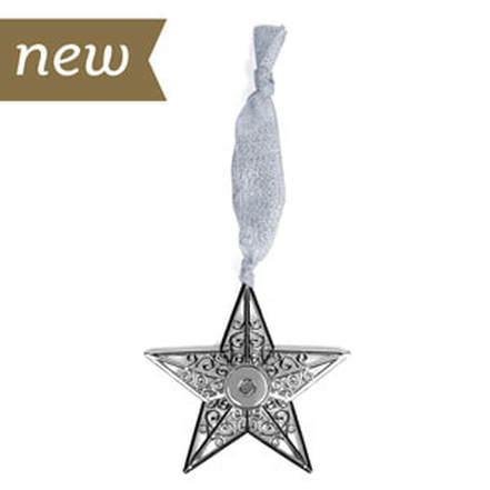 Magnolia and Vine S1537 Star Bright Christmas Ornament available at MyStyleInASnap.com