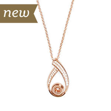 Magnolia and Vine #M0685 Mini Rose Gold Dynasty Necklace available at MyStyleInASnap.com