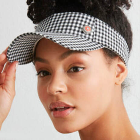 Headware Caps and Visors with Jewelry Snaps - MyStyleInASnap.com