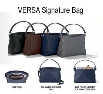 The Interchangeable Versa Signature Handbag At Mystyleinasnap