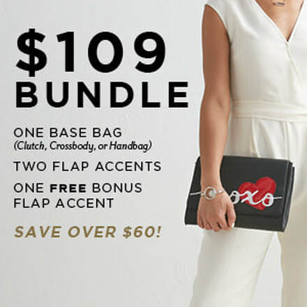 $109 Versa Bundle One Base Bag, Two Flap Accents. Shop MyStyleInASnap.com