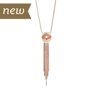 Rose Gold Fringe Benefits Necklace #S1524 by Magnolia and Vine available at MyStyleInASnap.com - LOVE IT? Join us and get it all at consultant prices.