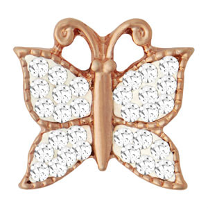 Rose Gold Mini Butterfuly Wings Snap #M0834