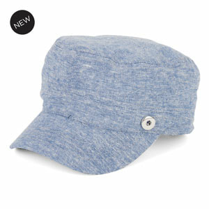 Scout Cap Blue Chambray